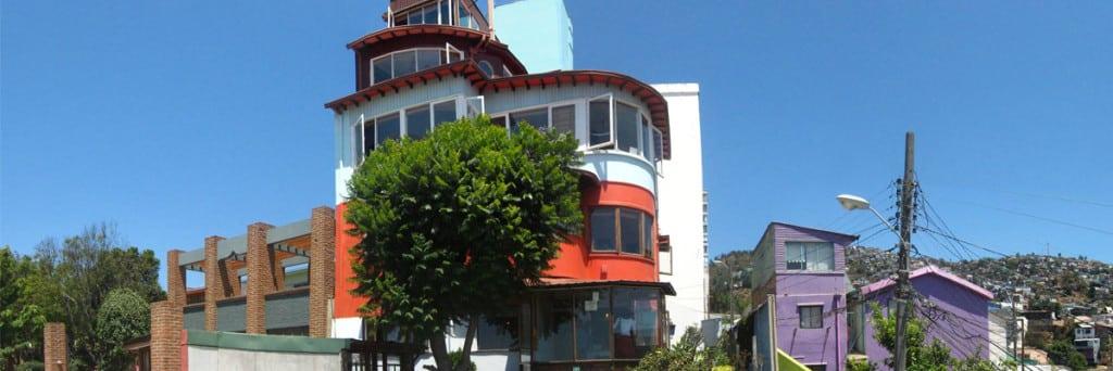 La Sebastiana, Santiago Photo : Fondation Pablo Neruda