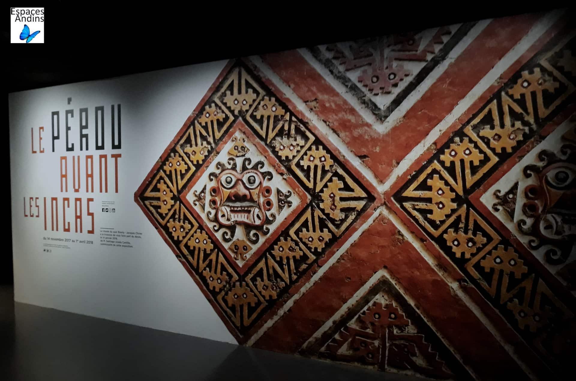 Exposition Pérou Avant Les Incas  Musée Du Quai Branly Jacques Chirac