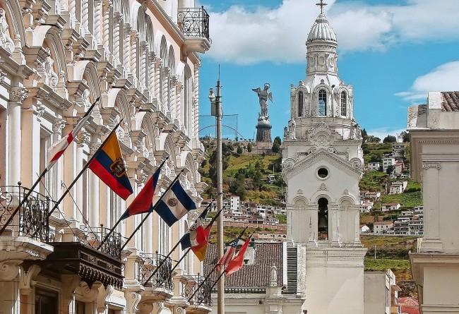 Le Centre Historique De Quito En Equateur, Classe Unesco