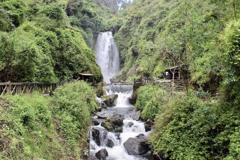La cascade de Peguche