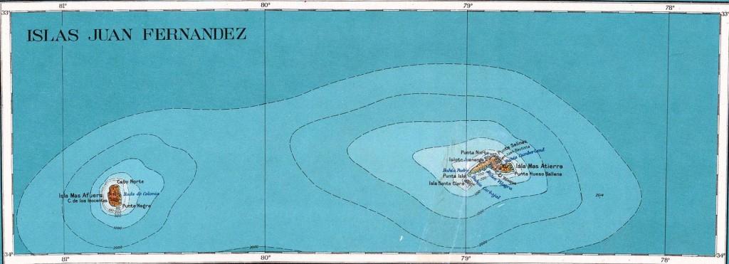 Archipel Juan Fernandez / Photo : Wikipedia