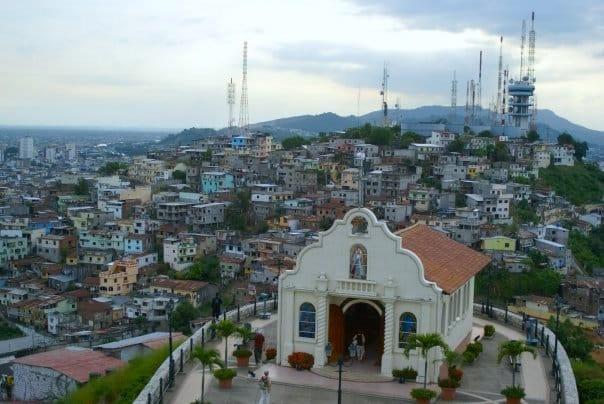 La chapelle dans le quartier Las Penas à Guayaquil // Photo : Espaces Andins