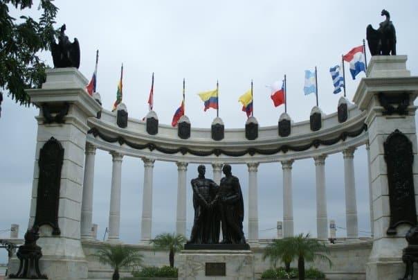 La rotonda, monument historique à Guayaquil // Photo : Espaces Andins