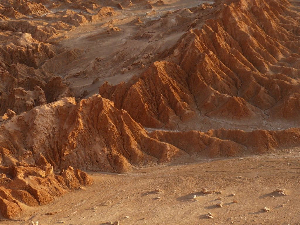 La vallée de la lune, désert Atacama
