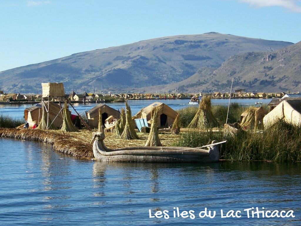 Les Iles Du Lac Titicaca, Pérou Et Bolivie