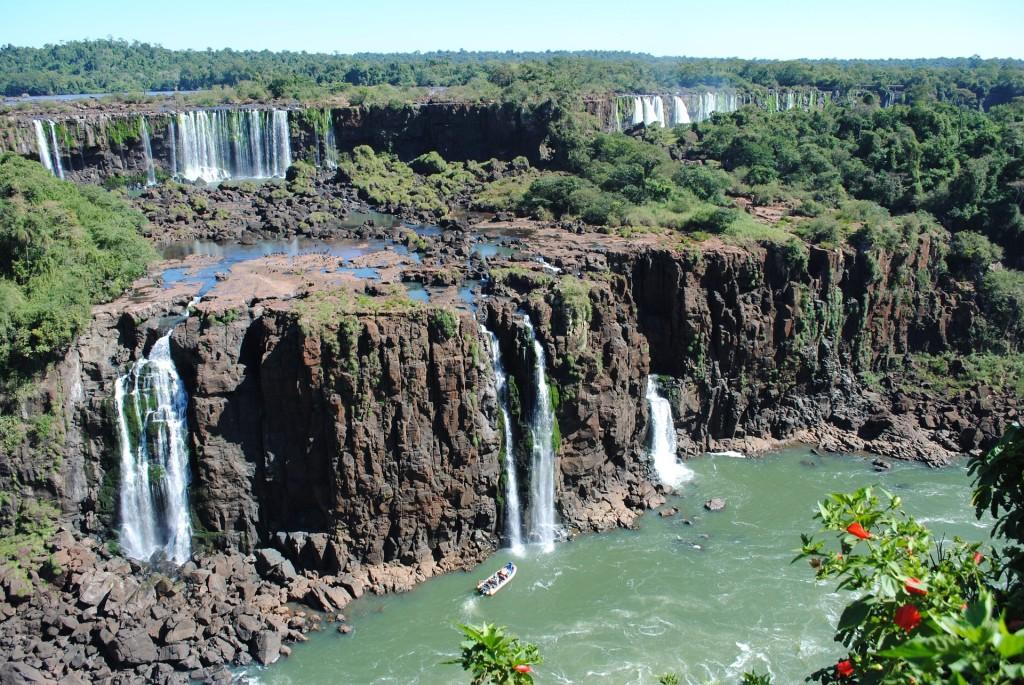Les chutes d'Iguazu, en Argentine