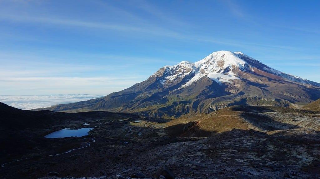 Le volcan Chimborazo en Equateur