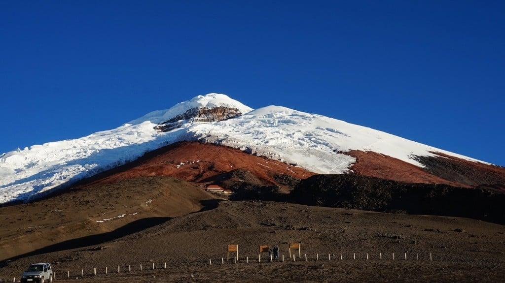 Cotopaxi volcan Equateur