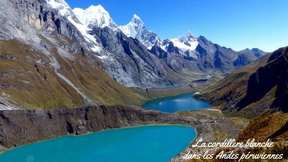 La Cordillère Blanche Dans Les Andes Péruviennes