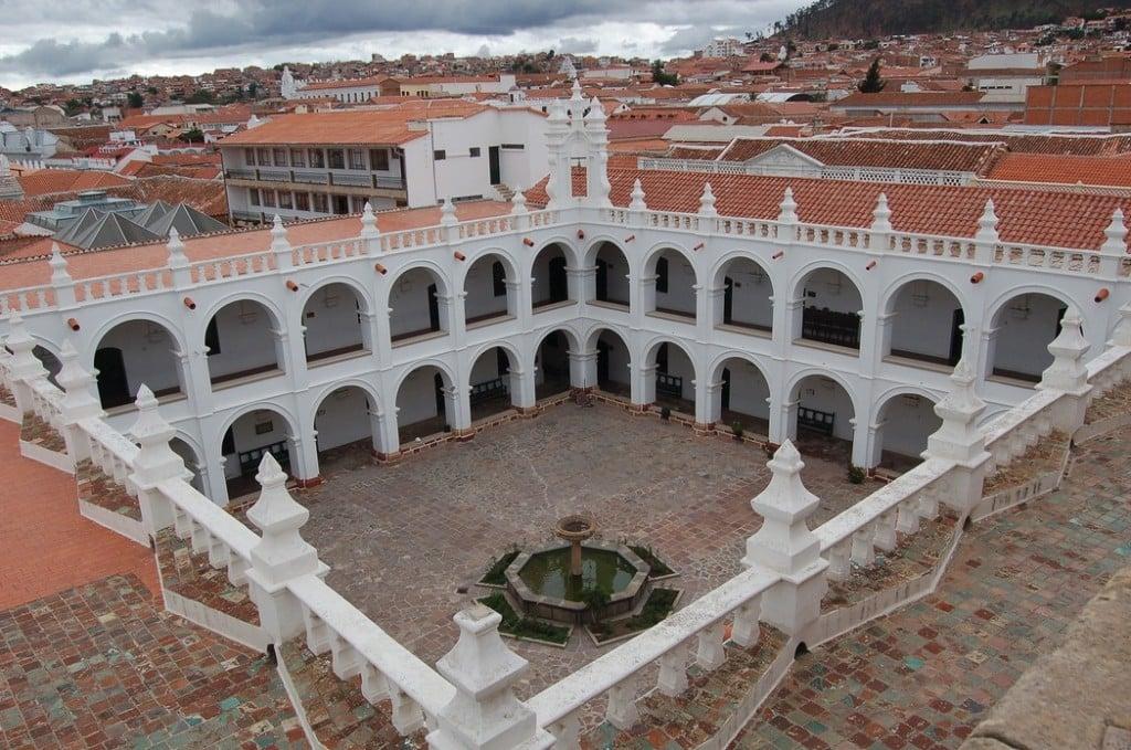 Couvent St Philippe de Neri,  Sucre Crédit Photo : Manuel Menal