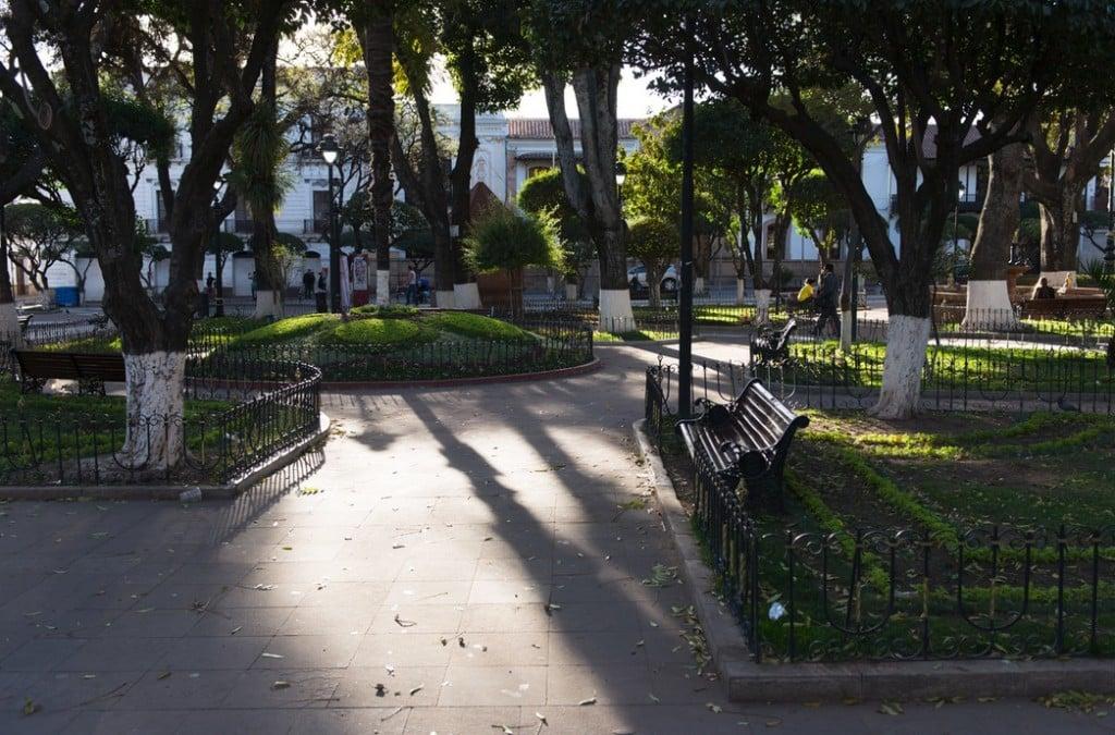 Le Parque Simon Bolivar, Sucre Crédit Photo :  vincent raal