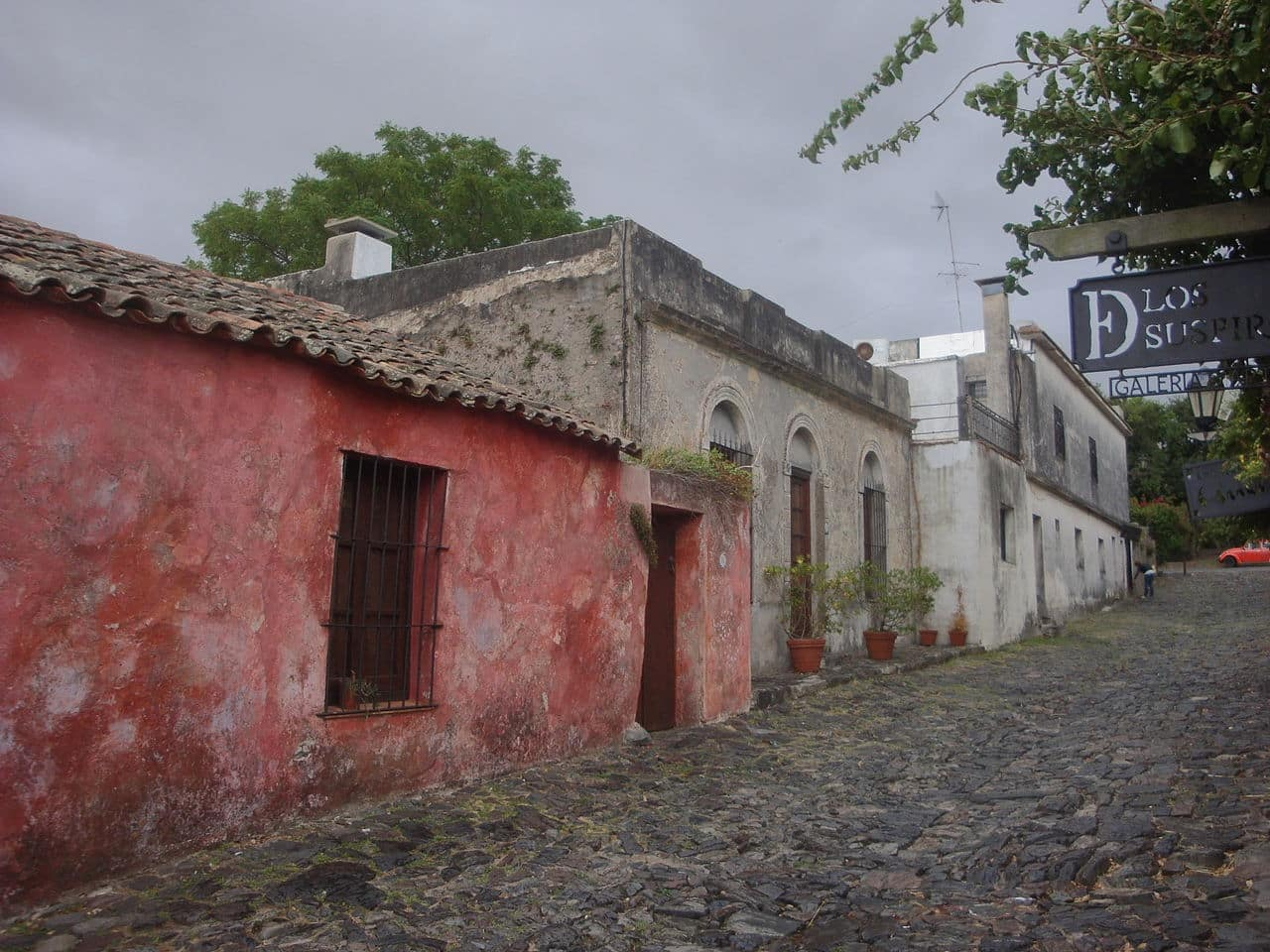 La rue des soupirs, Colonia del Sacramento / Photo : Wikipedia