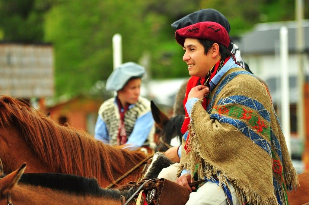 Gaucho au Chili