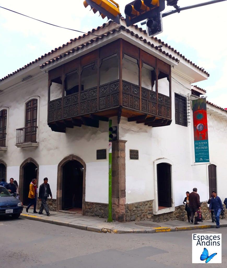 Musée ethnographique de la Paz, en Bolivie // Photo : Espaces Andins