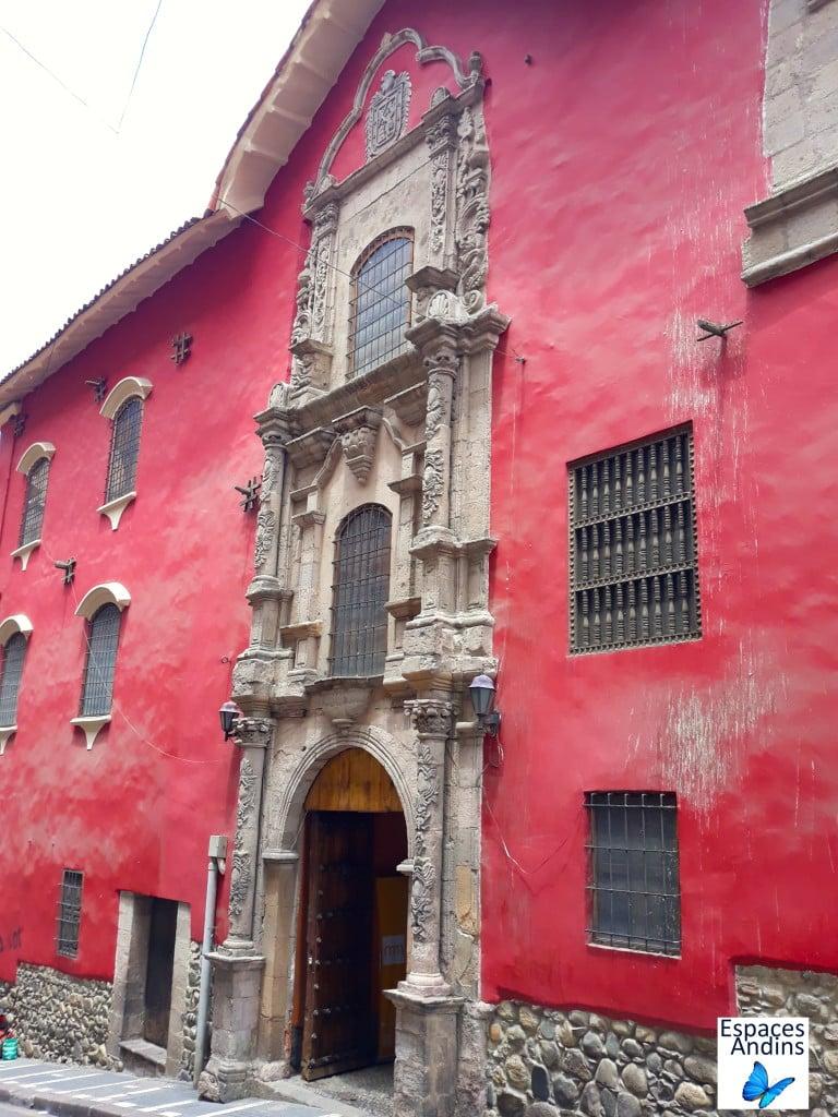 Le musée national des Arts dans le centre historique de La Paz, en Bolivie // Photo : Espaces Andins