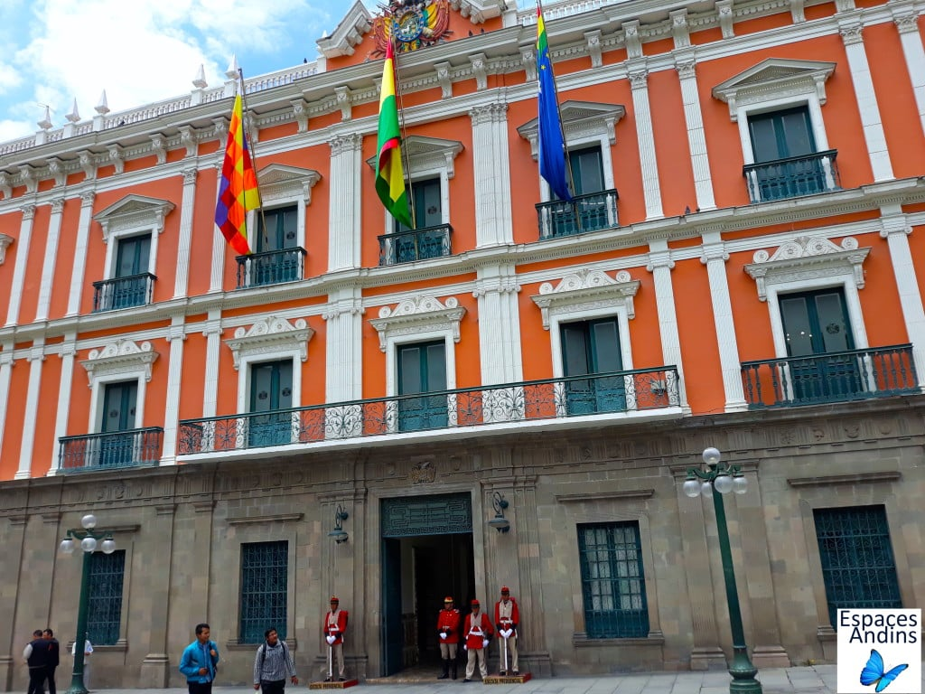 L'ancien palais du gouvernement de La Paz en Bolivie //Photo : Espaces Andins
