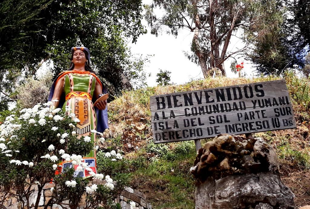 Mama Ocllo, Port Yumani, Isla del Sol, Titicaca, Bolivie Photo : Espaces andins