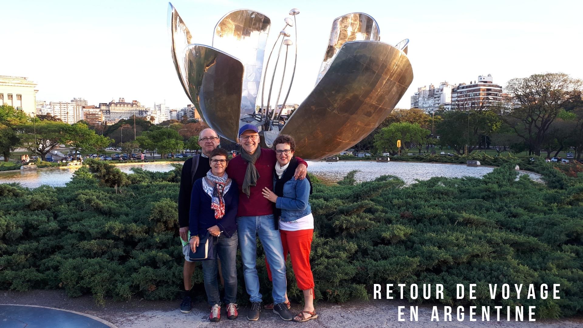 Retour De Voyage En Argentine