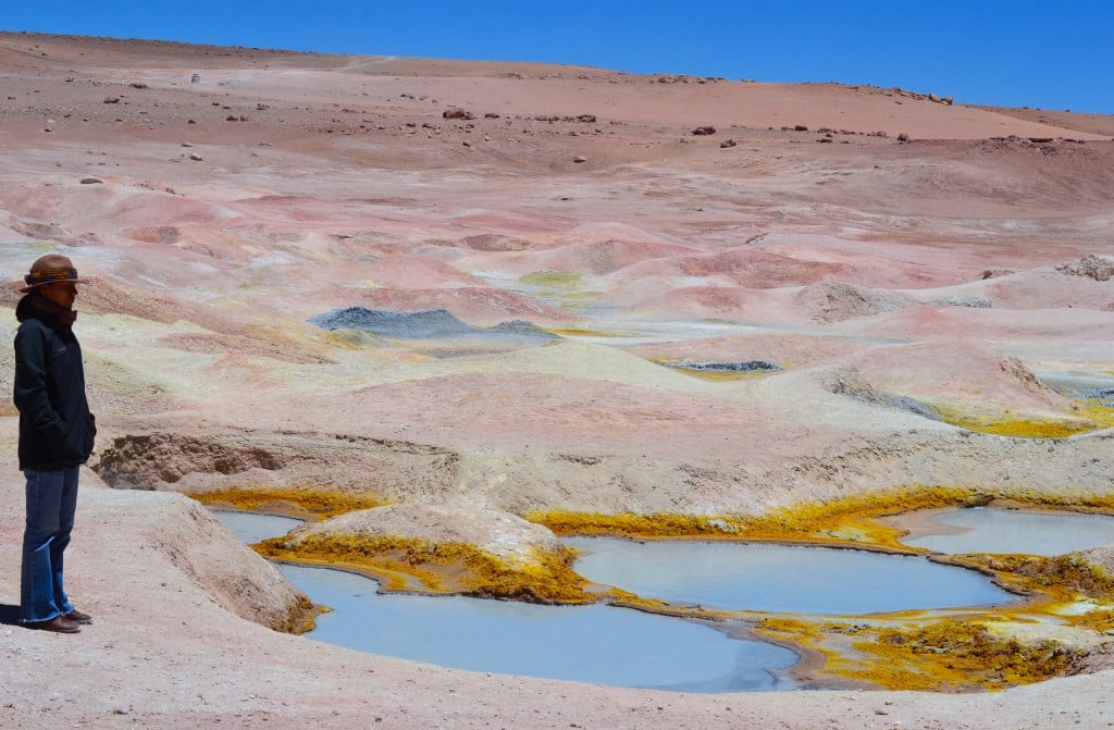 Les geysers Sol de Manana en Bolivie Photo : Espaces Andins