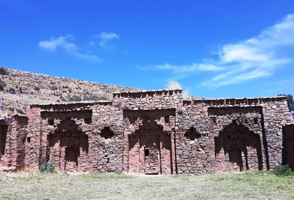 Palais des vierges, Ile de la Lune, Lac Titicaca, Bolivie Photo : Espaces Andins