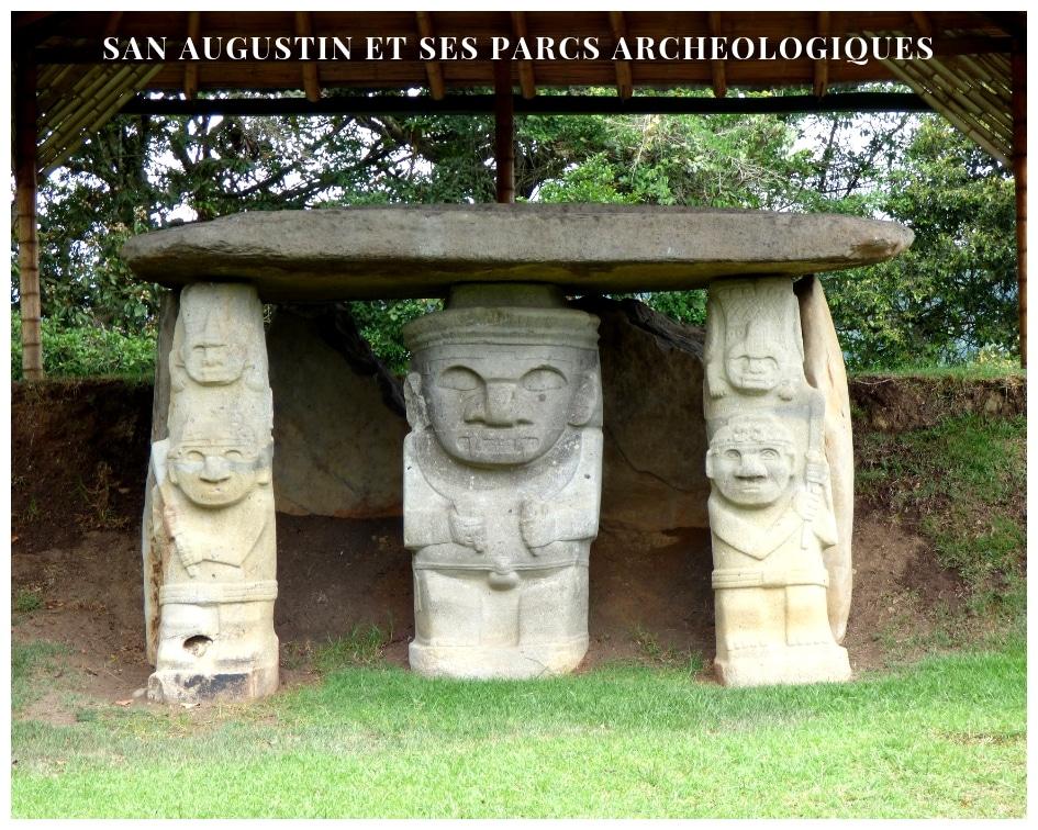 San Augustin,  Les Beaux Jours  D'un Voyageur Dans Les Parcs Archéologiques Inscrits Au Patrimoine De L'Humanité De L'Unesco