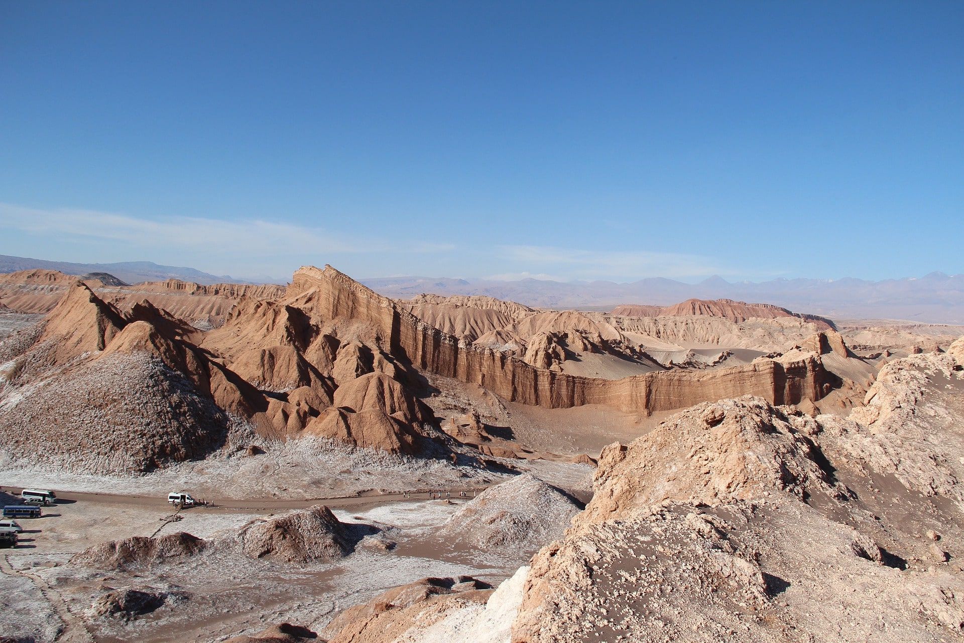 La Vallée De La Lune, Désert Atacama, Voyage Chili