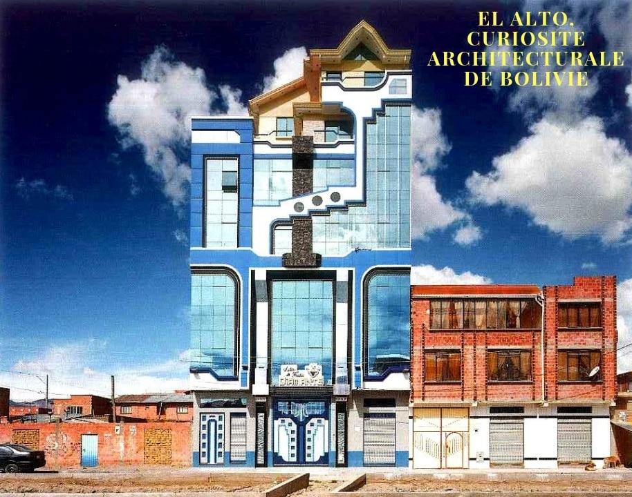 El Alto, La Curiosité Architecturale De Bolivie