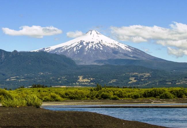 Volcan Sud Chili
