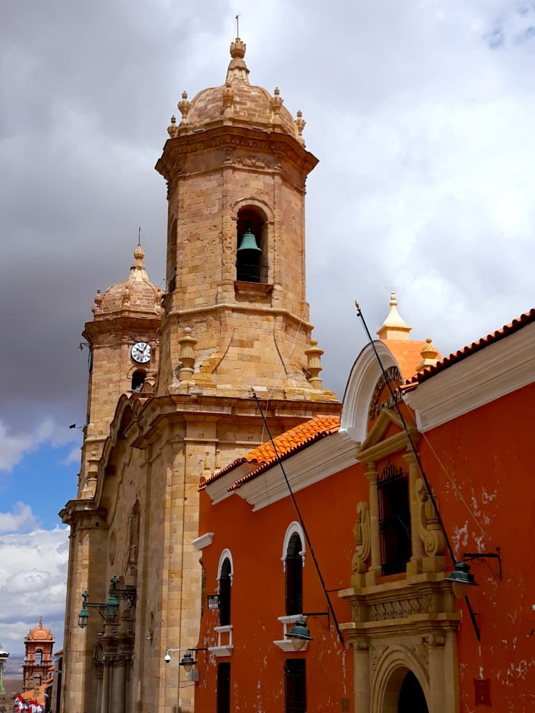 Cathédrale de Potosi, Bolivie // Photo : Espaces Andins