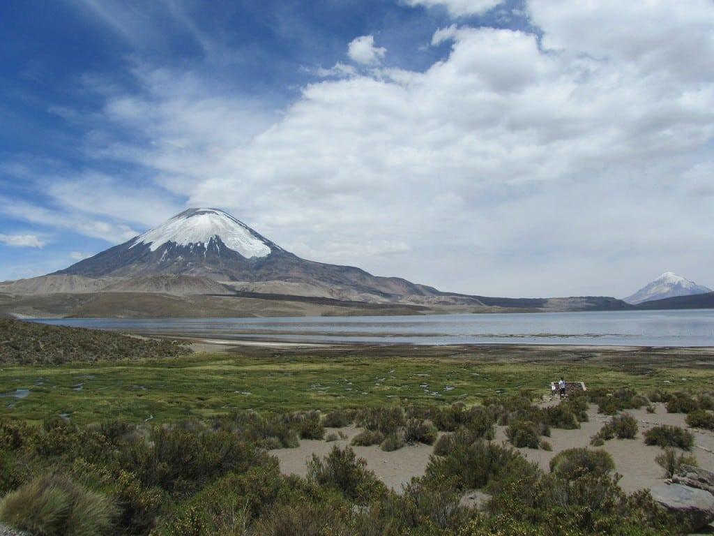 le lac Chungara dans le nord du Chili. Voyage organisé francophone hors des sentiers battus