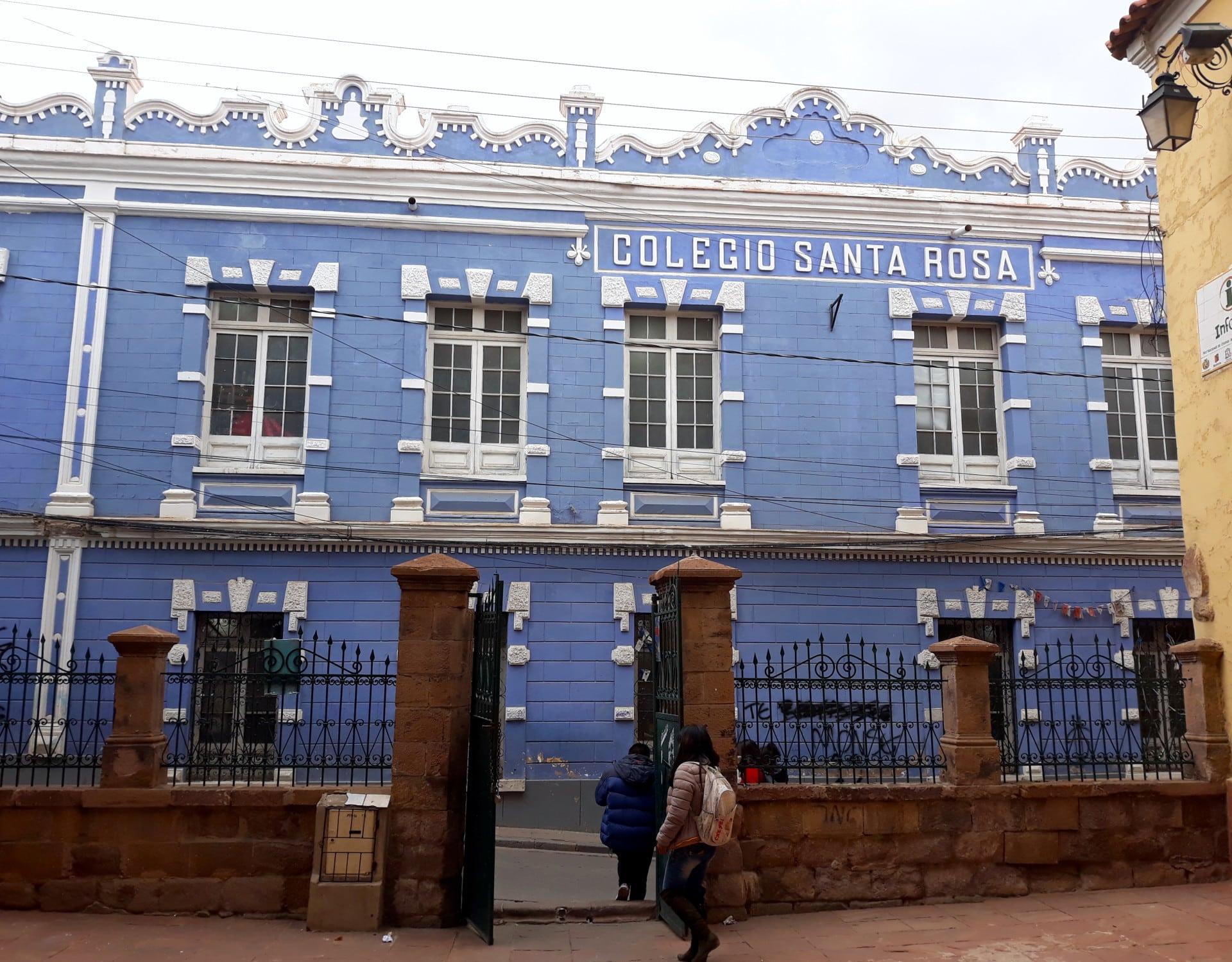 College à Potosi, En Bolivie