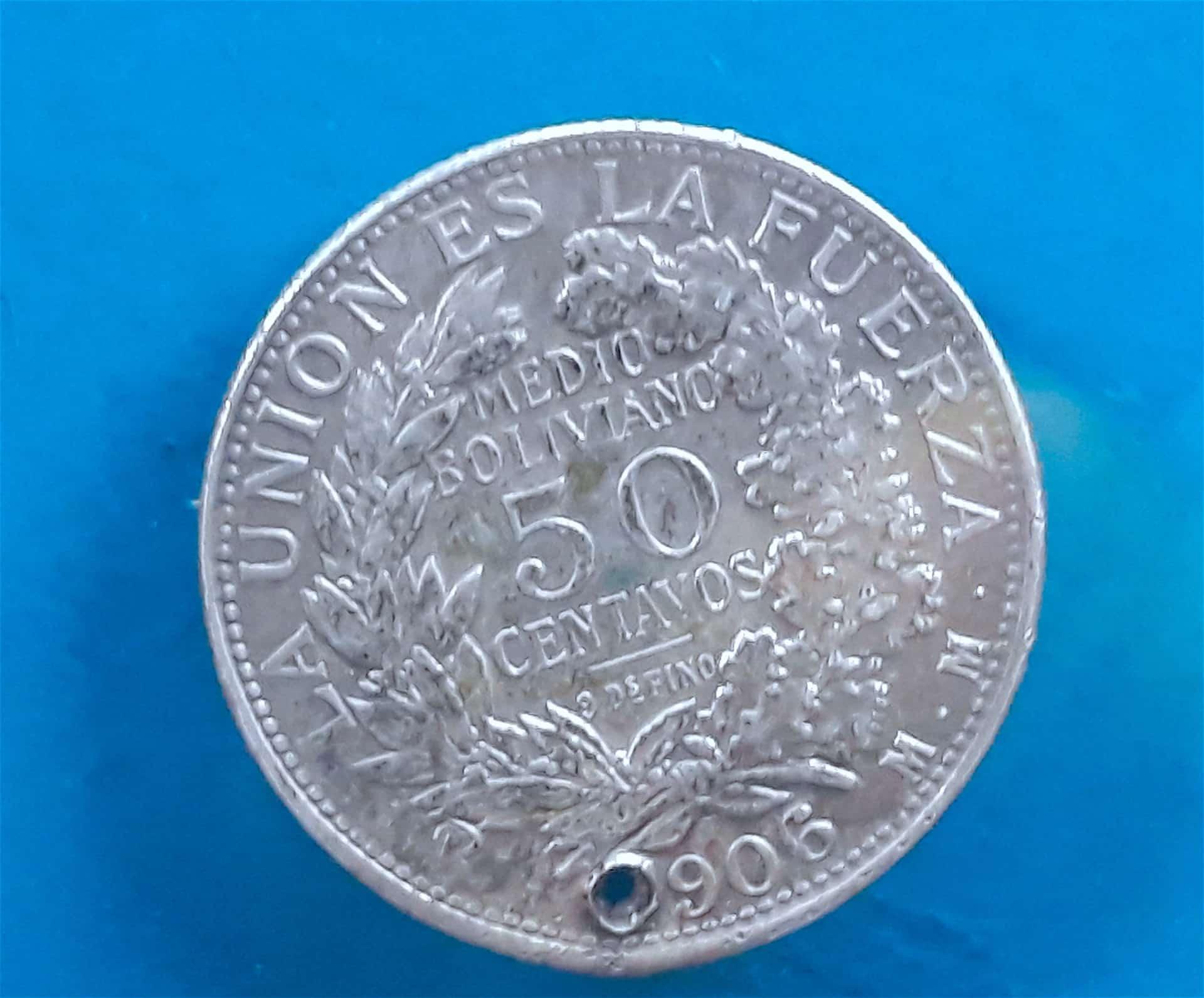 Pièce De Monnaie Du Musée De La Monnaie, Potosi, Bolivie