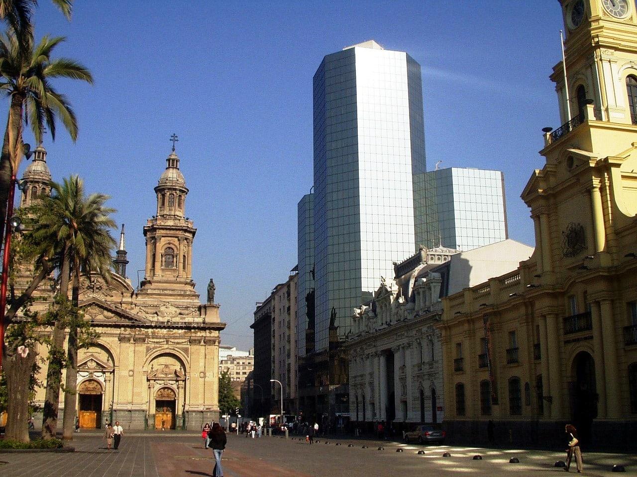 Le Centre Historique Santiago Chili