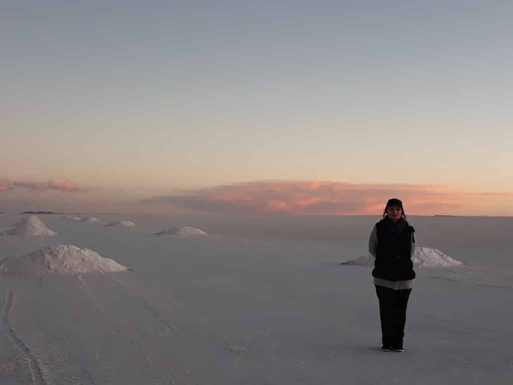 salar uyuni coucher de soleil