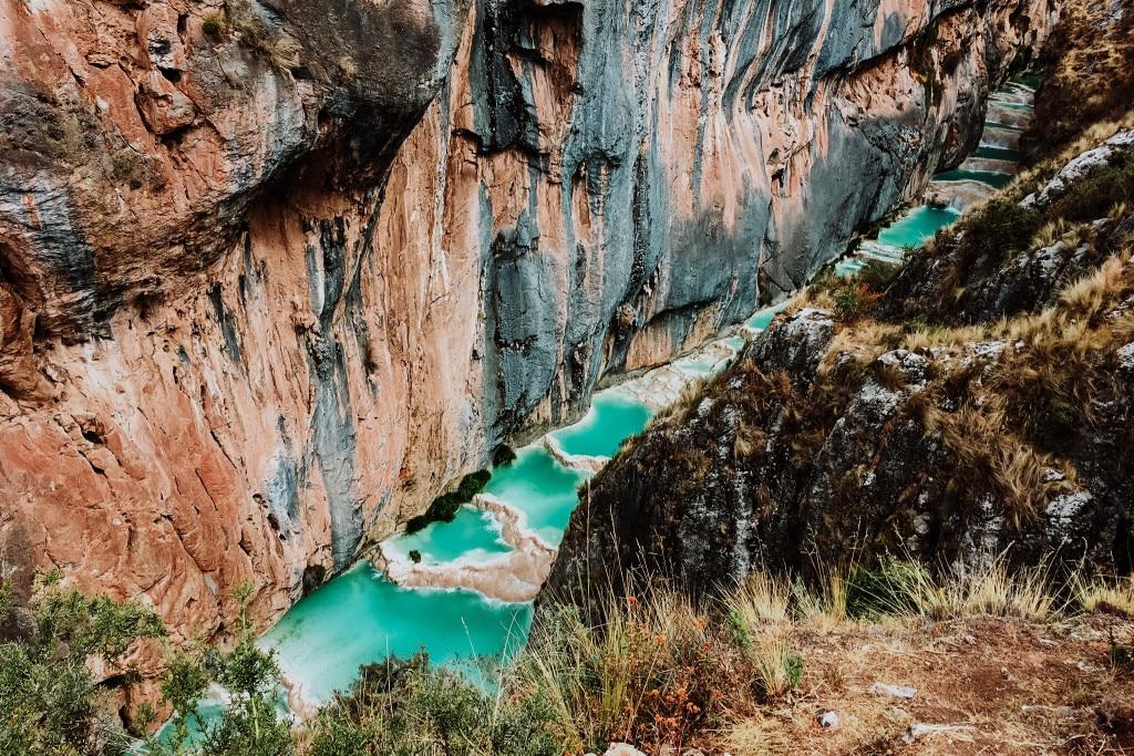 Les piscines de Millpu au Pérou