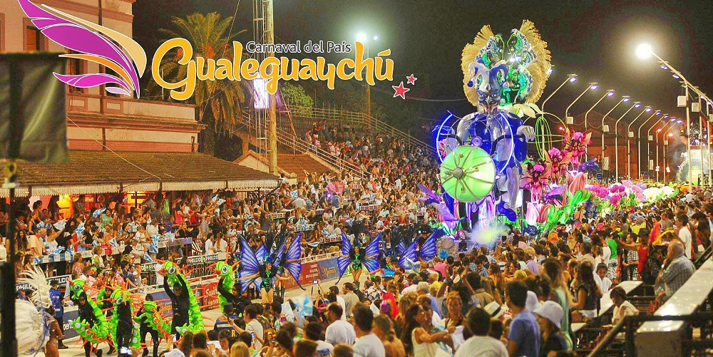 Carnaval Gualeguauchu // Photo : Destino Gualeguauchu