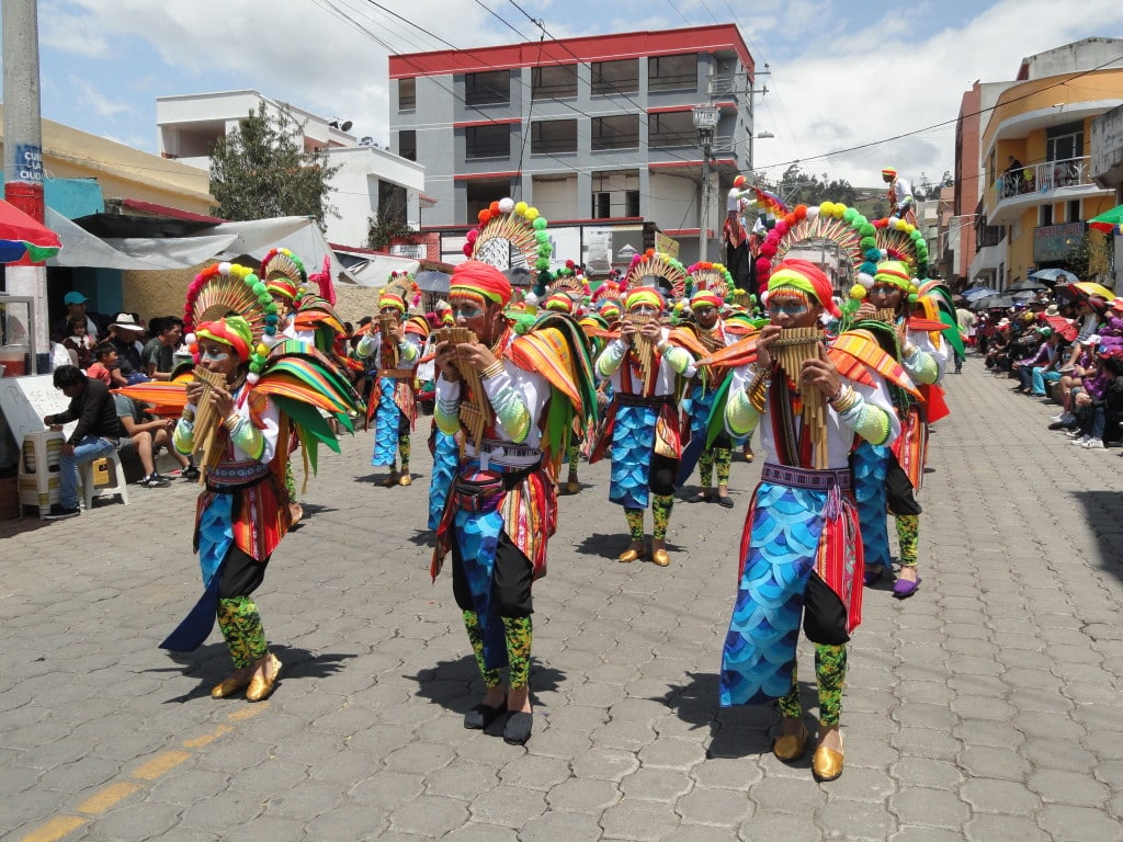 Carnaval de Guaranda en Equateur // Photo : turismo.gob.ec