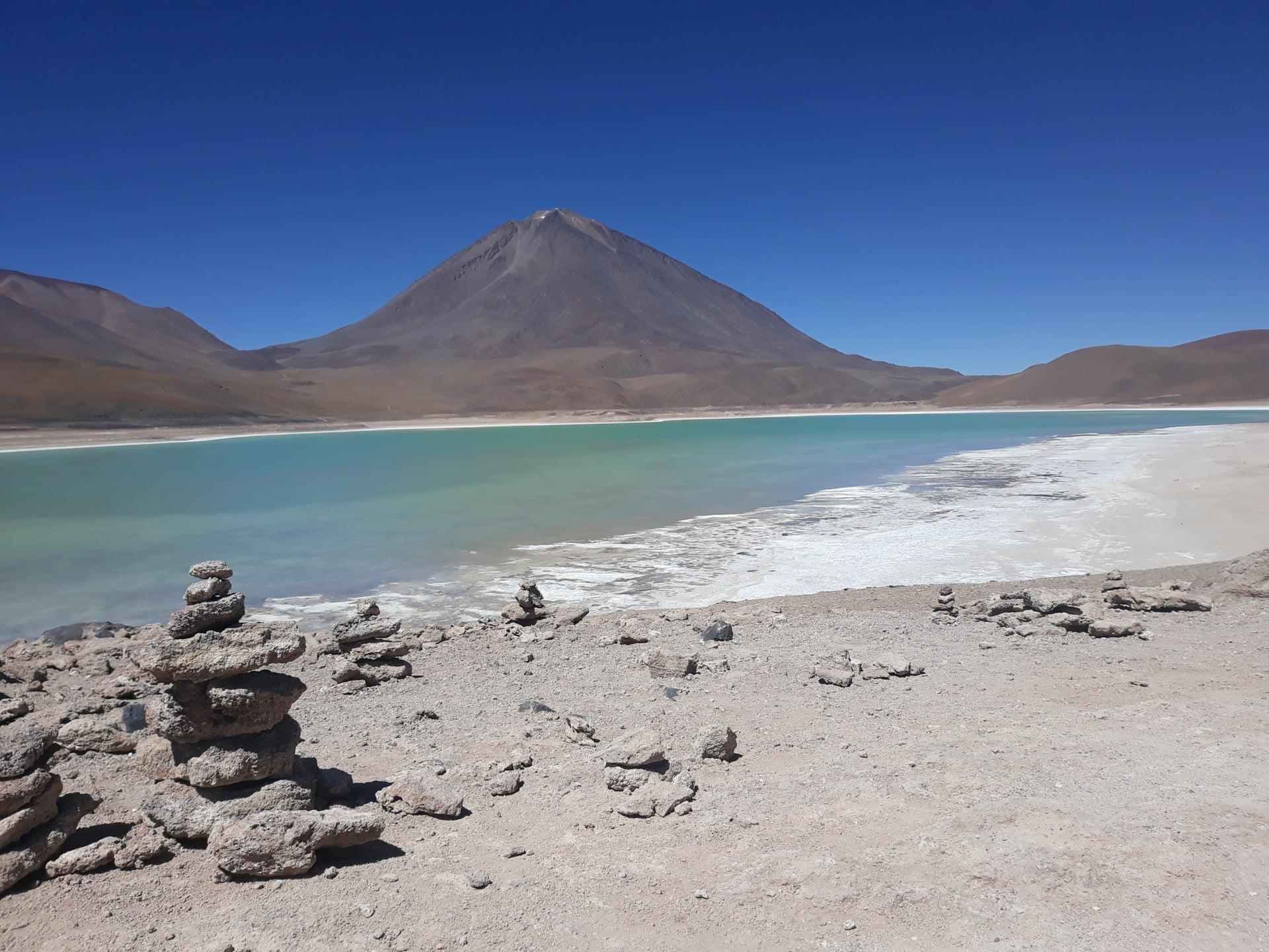 La Laguna Verde Voyage En Bolivie