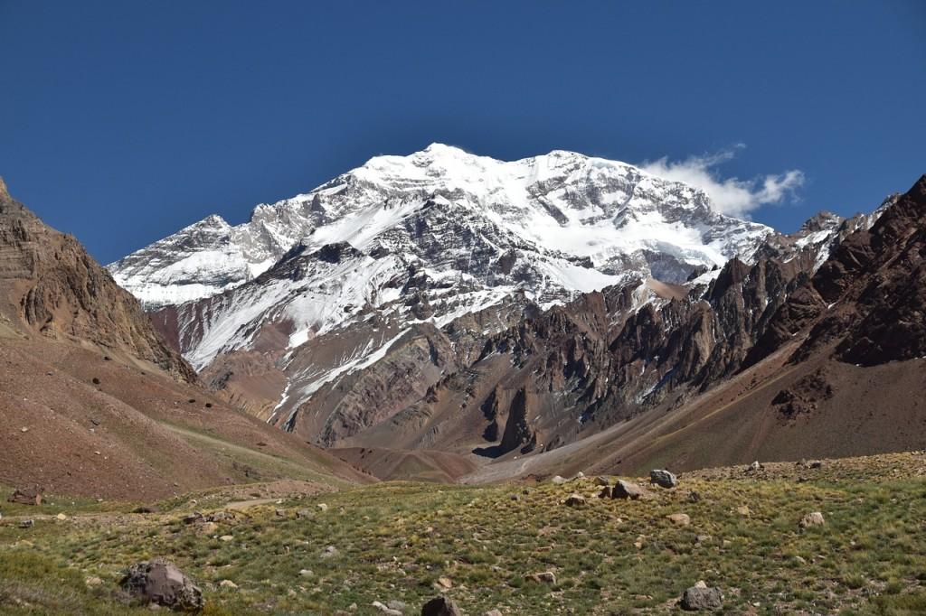 Vue sur l'Aconcagua, en Argentine