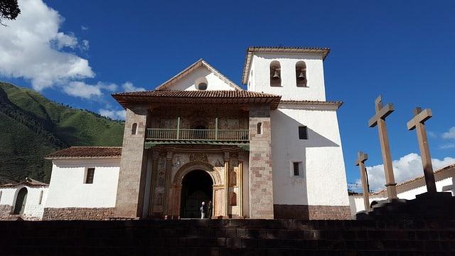 L'église d'Andahuaylillas au Pérou, la chapelle sixtine des Andes, entre Cusco et Puno