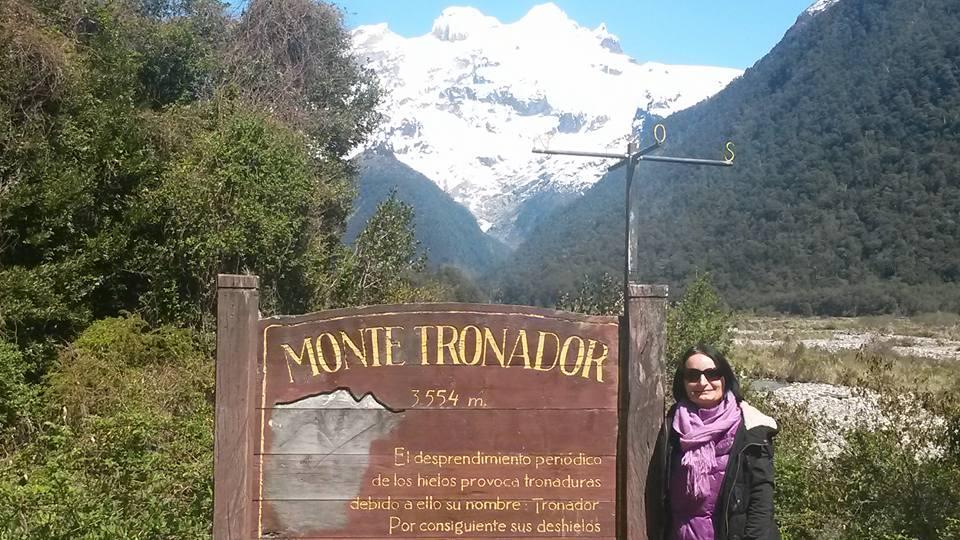 Le Mont Tronador à la frontière Argentine/Chili