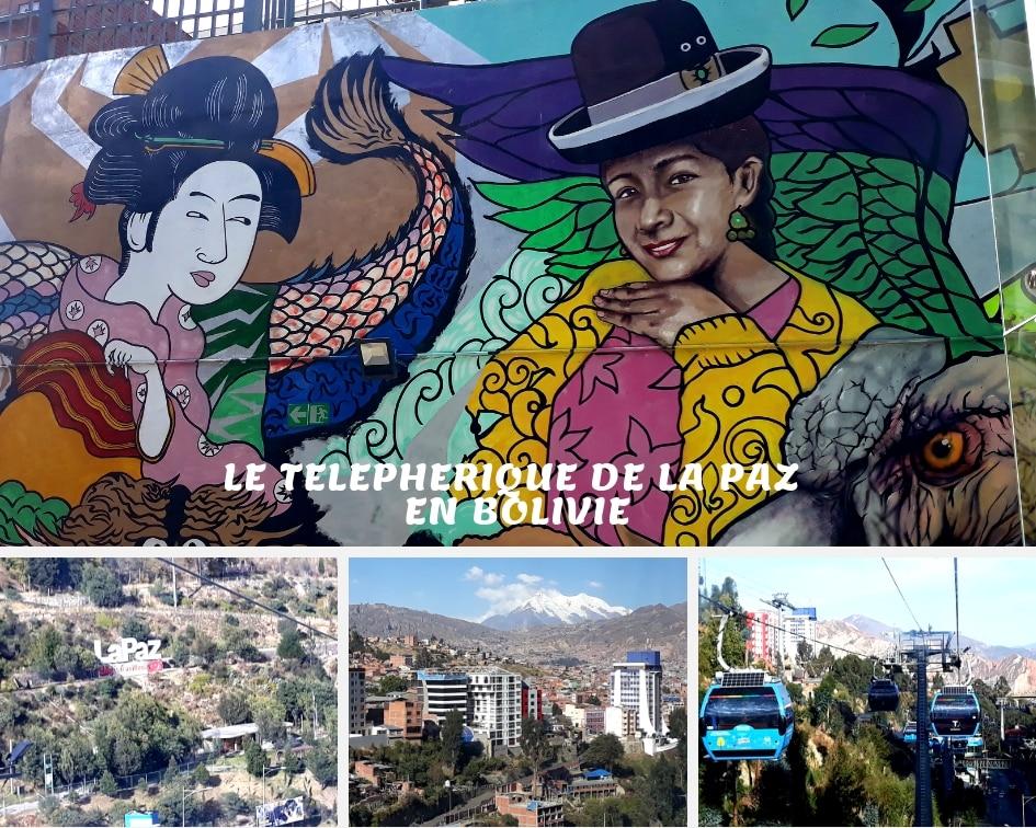 Téléphérique De La Paz, Bolivie