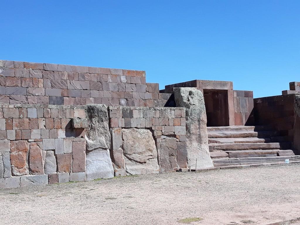 le site de Tiwanaku, Bolivie