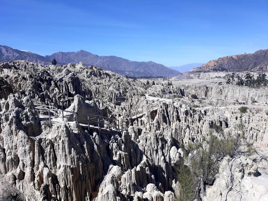 Visite de la vallée de la lune, au départ de La Paz, en Bolivie
