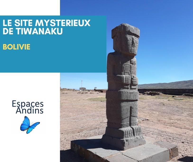 Le Site Pre Inca De Tiwanaku En Bolivie