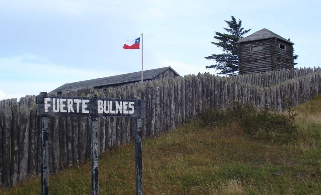 Fort Bulnes, détroit de Magellan, Chili