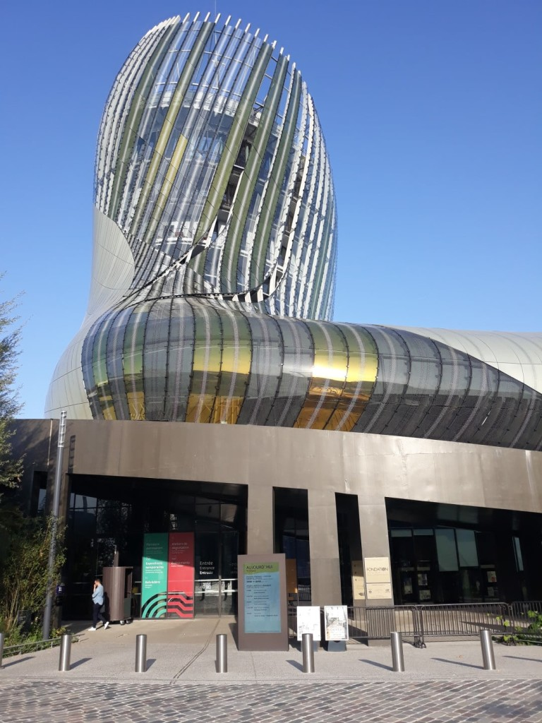 Cité du vin Bordeaux exposition argentine
