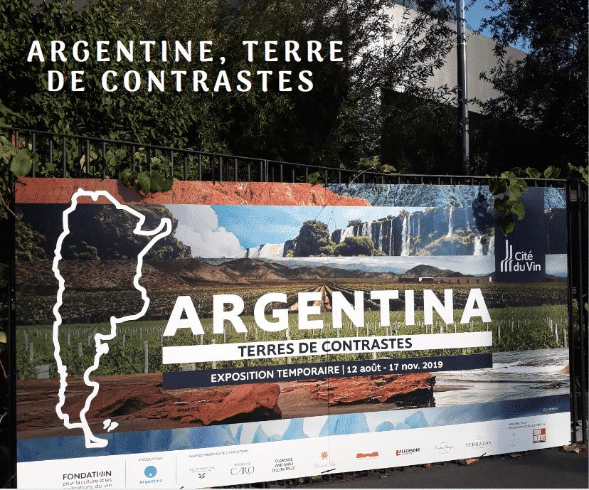 Argentine Terre De Contrastes Bordeaux Cite Du Vin Exposition