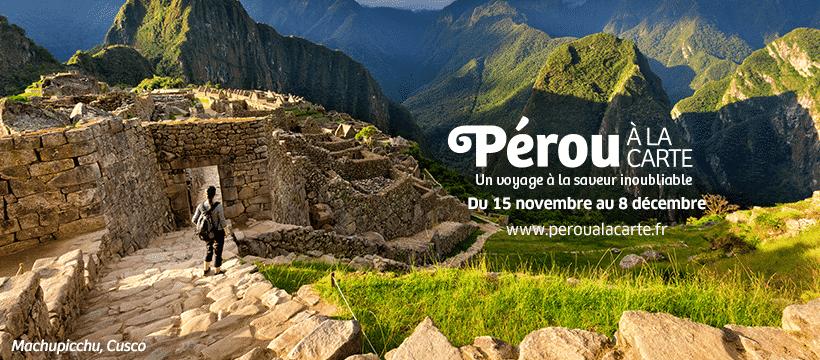 Pérou à La Carte