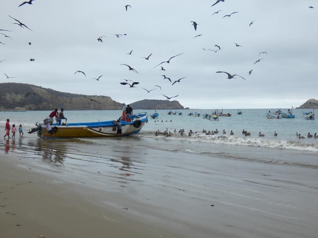 Pecheurs cote pacifique Equateur